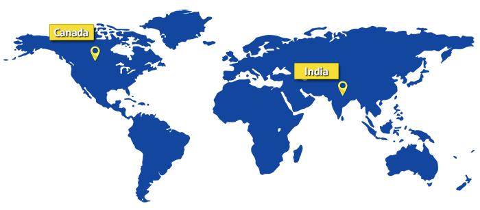 map-canada-india