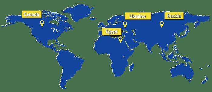 map-canada-russia-ukraine-egypt