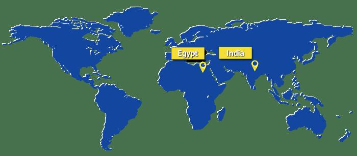 egypt-india-map