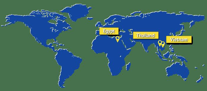Egypt, Thailand & Vietnam Sourcing