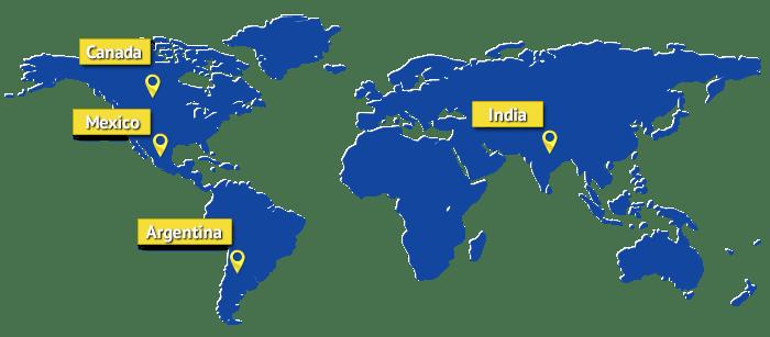map-canada-mexico-india-argentina